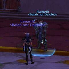 Kampfgefährten - Leea und Nargoth