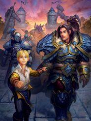 Varian und Anduin