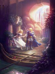Arthas und Jaina in Lordaeron