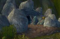 Höhle in den Bergen