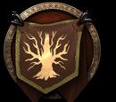 Stamm der Granithufe