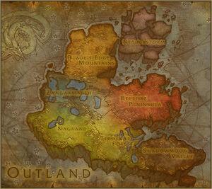 Scherbenwelt Karte (engl.)