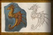 Seahorse concept art