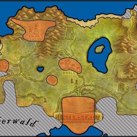 Allgemeine Karte von Tirisfal