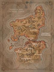 Territorien der Zwerge und Gnome