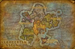 Verheerte Inseln Karte