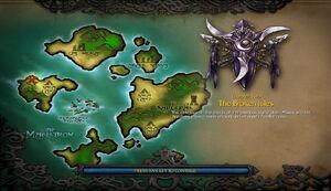Die verheerten Inseln Start