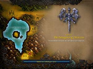 Die Belagerung Dalarans Start