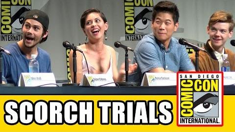 Maze Runner 2 The Scorch Trials Comic Con Panel - Dylan O'Brien, Thomas Brodie-Sangster