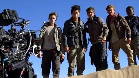 Maze Runner Scorch Trials B-ROLL (HD) Dylan O'Brien Sci-Fi Movie 2015