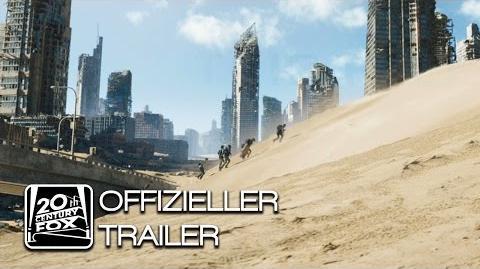 Maze Runner - Die Auserwählten in der Brandwüste Offizieller Trailer 1 Deutsch HD Scorch Trials