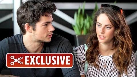 Exclusive Interview - The Maze Runner Cast (2014) HD