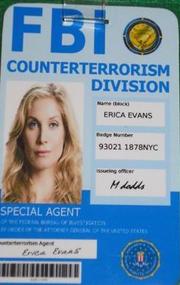 Erica Evans Ausweis