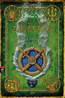 Die mächtige Zauberin - Cover