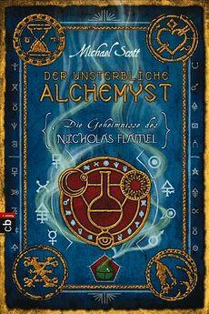 Der unsterbliche Alchemyst - Cover