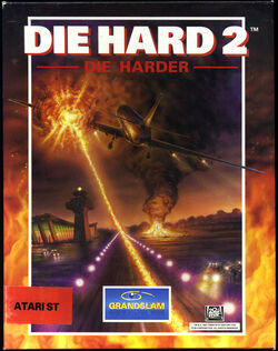 Die hard 2 (video game) cover