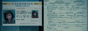 Holly driver's license and divorce certificate