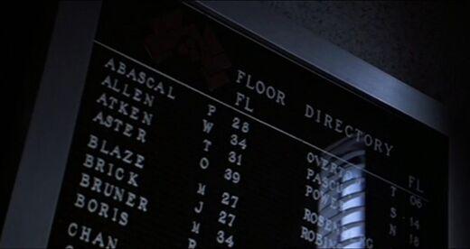 Nakatomi Floor directory 2