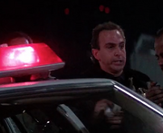 Die Hard- young police officer with Powell (played by Anthony Peck)