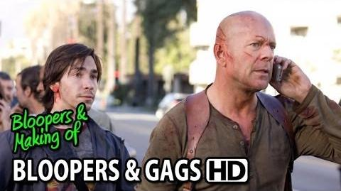 Live Free or Die Hard (2007) Bloopers Outtakes Gag Reel (Part2 2)