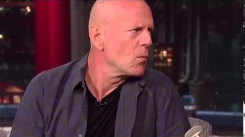 Bruce Willis on David Letterman - August 19th 2014 - Full Interview