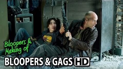 Live Free or Die Hard (2007) Bloopers Outtakes Gag Reel (Part1 2)