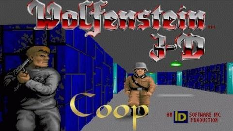 Lets Play WolfenStein 3d Coop e1m1