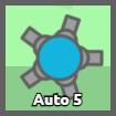 Quad to Auto 5