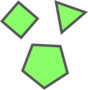 Diep.io.GreenPolygons