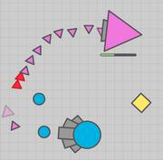 Triangulo Rosa Gigante