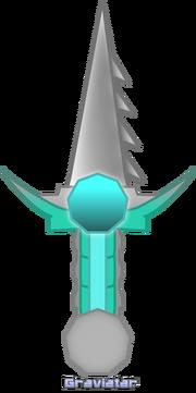 ZathsuGrav Weapon Ennealis Serrated Shortsword