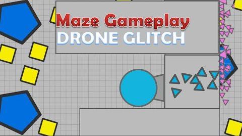 Maze Gameplay - Drone GLITCH -.io