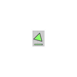 Green Triangle bị cắt bởi <a href=