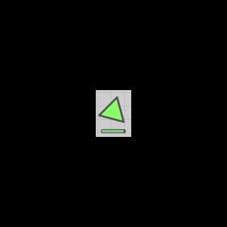 Green Triangle bị cắt bởi <a class=