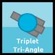 Triplet Tri-Angle