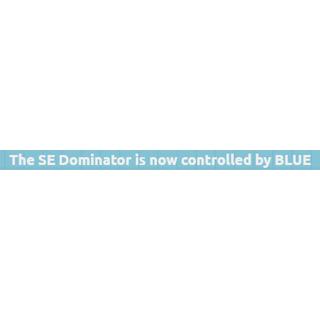 Thông báo xuất hiện khi Team Xanh kiểm soát Dominator