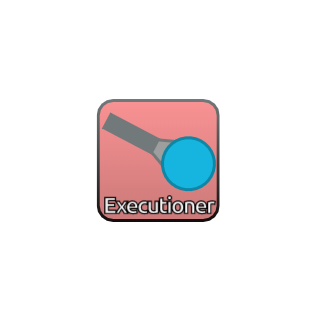 The Executioner's upgrade selector