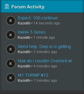KaznithsForum