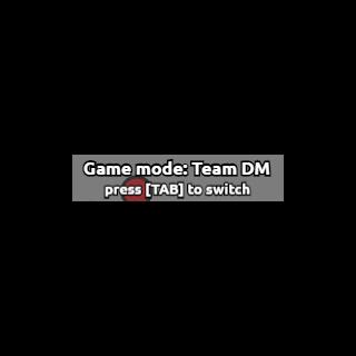 Team Deathmatch được chọn trong màn hình tiêu đề