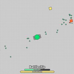 Battleship xanh lá bắn drone