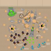 Sassafrexen Battle