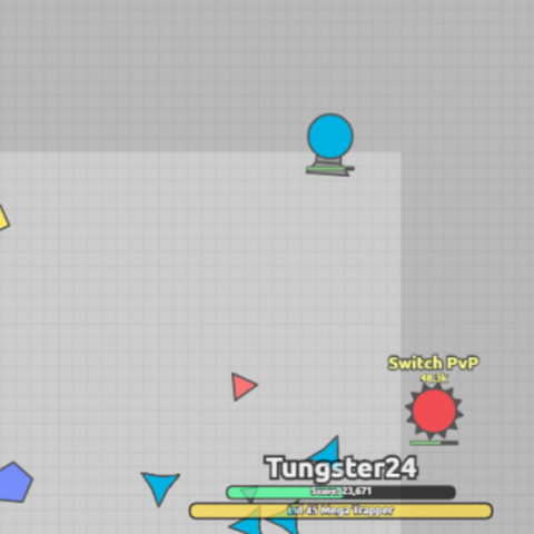 A Mega Trapper fighting with a Spike