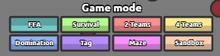 Gamemodes