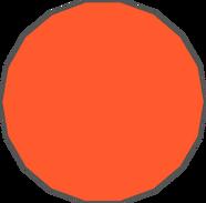 Diep.io.Red-Orange Octadecagon