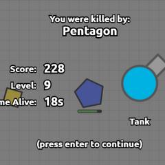 Khi bị giết bởi Pentagon