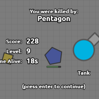 When killed by a Pentagon.
