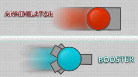 Diep.io - FASTEST TANK - ANNIHILATOR? Faster than Booster