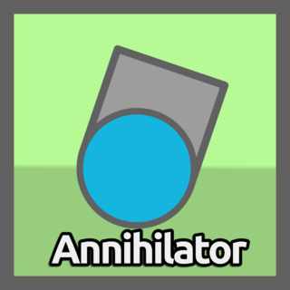 The Annihilator's upgrade button.
