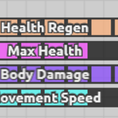 An example of the Smasher stats, notice how much it can upgrade a stat compared to the normal ones.