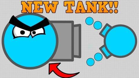 CRAZY NEW DIEP.IO SKIMMER TANK!! vs Boss 250K+ First Attempt (Diep.io Update)